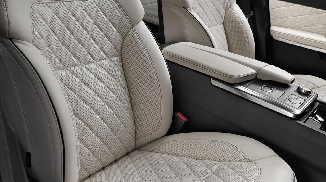 Mercedes GL 2012, Innenraum