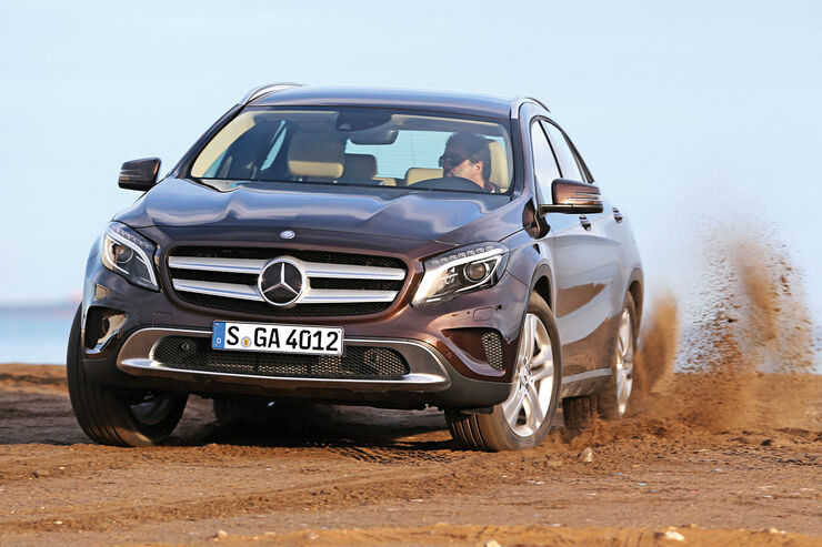 Mercedes GLA, Frontansicht