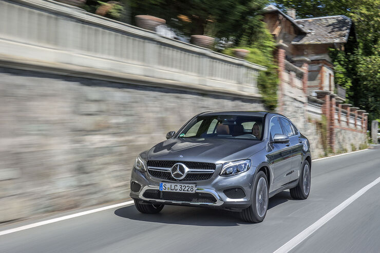 Mercedes GLC 250 d 4MATIC Coupé, Diesel, 150 kW (204 PS)