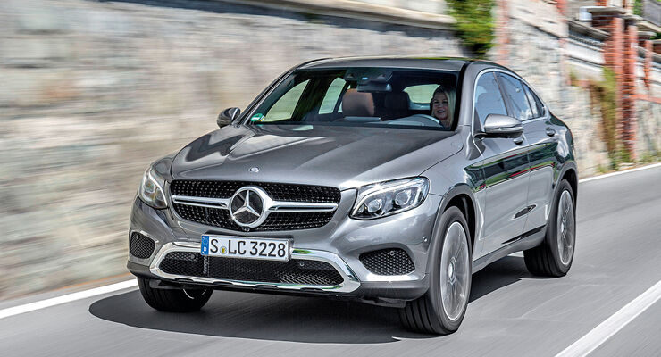 mercedes glc 250 d 4matic coup im test auto motor und sport. Black Bedroom Furniture Sets. Home Design Ideas