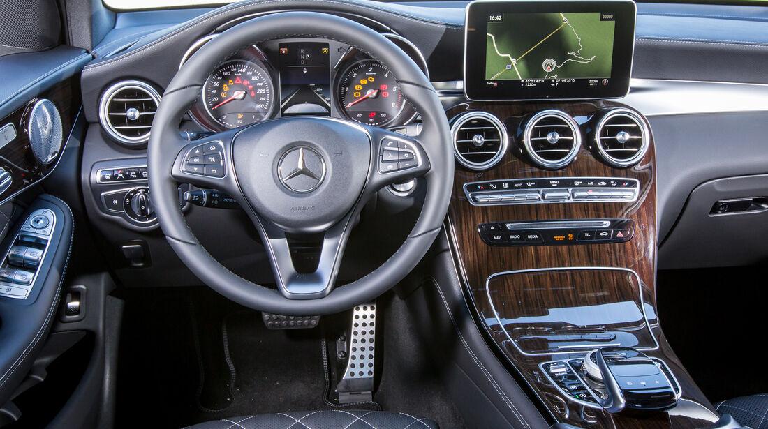 Mercedes GLC Coupé, Cockpit