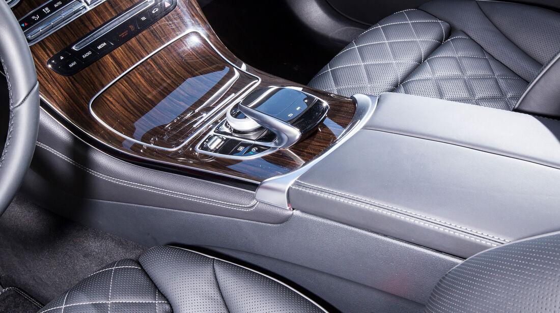 Mercedes GLC Coupé, Mittelkonsole