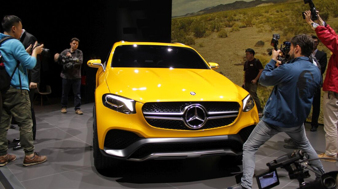 Mercedes GLC Coupé, Shanghai, Auto China 2015