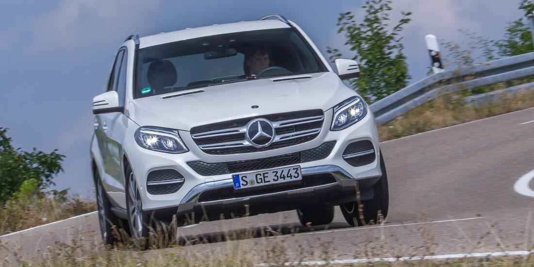 Mercedes GLE 250 d, Frontansicht