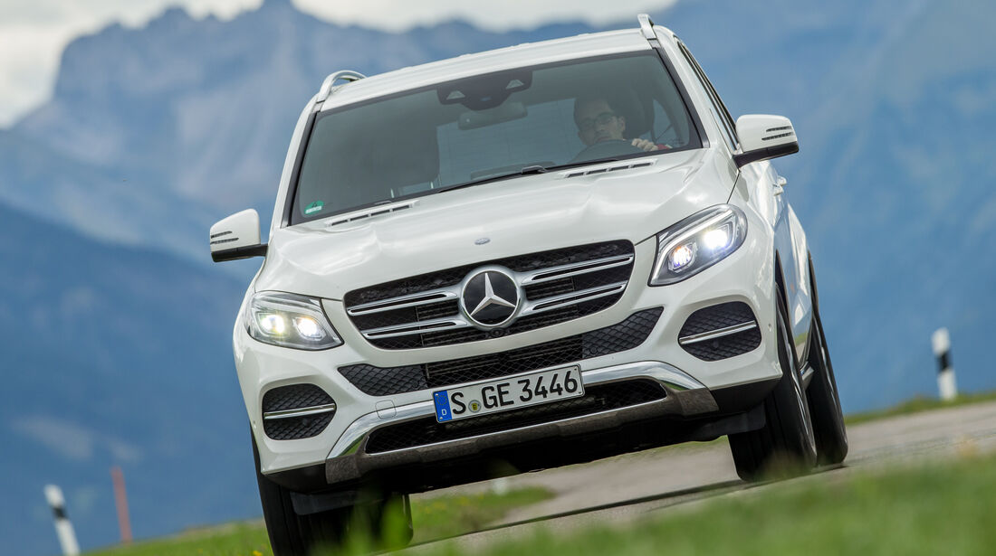 Mercedes GLE 350 d, Frontansicht
