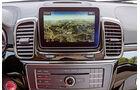 Mercedes GLE, Navi, Bildschirm