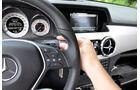 Mercedes GLK, Lenkrad, Schalthebel