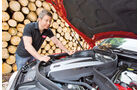 Mercedes GLK, Motorhaube, Dirk Gulde