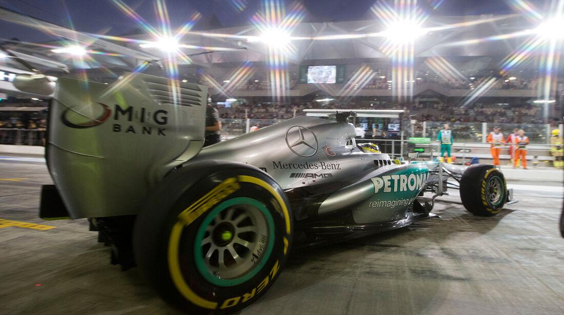 Mercedes - GP Abu Dhabi 2013
