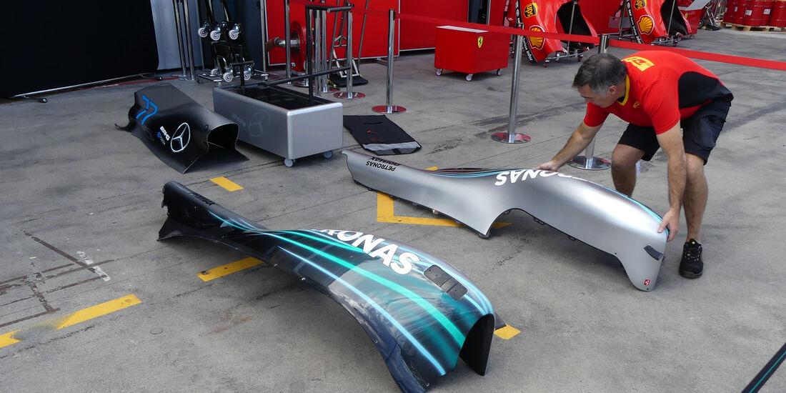 Mercedes - GP Australien 2018 - Melbourne - Albert Park - Mittwoch - 21.3.2018