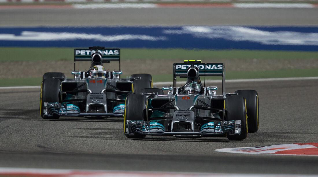 Mercedes - GP Bahrain 2014