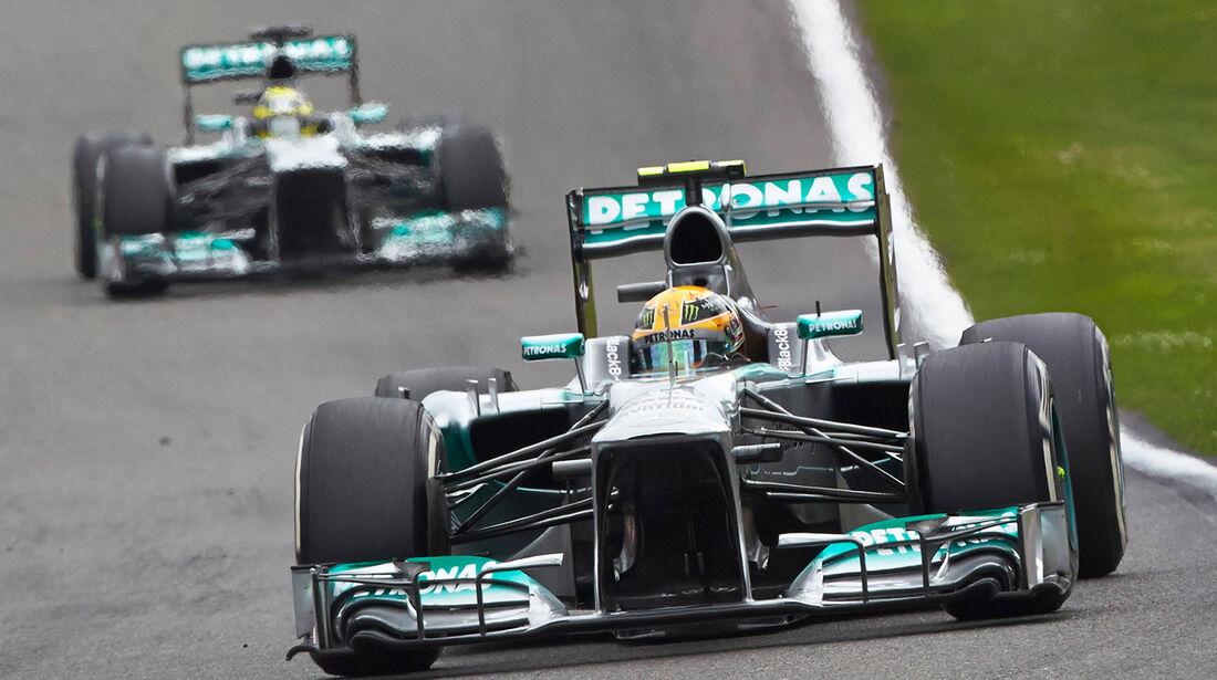 Mercedes - GP Belgien 2013