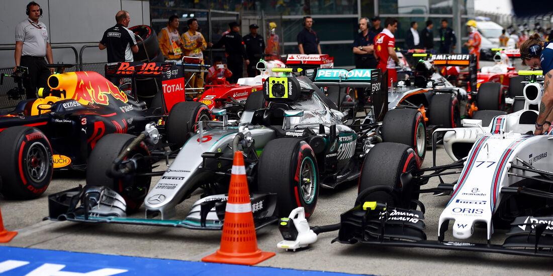 Mercedes - GP China 2016 - Shanghai - Qualifying - 16.4.2016