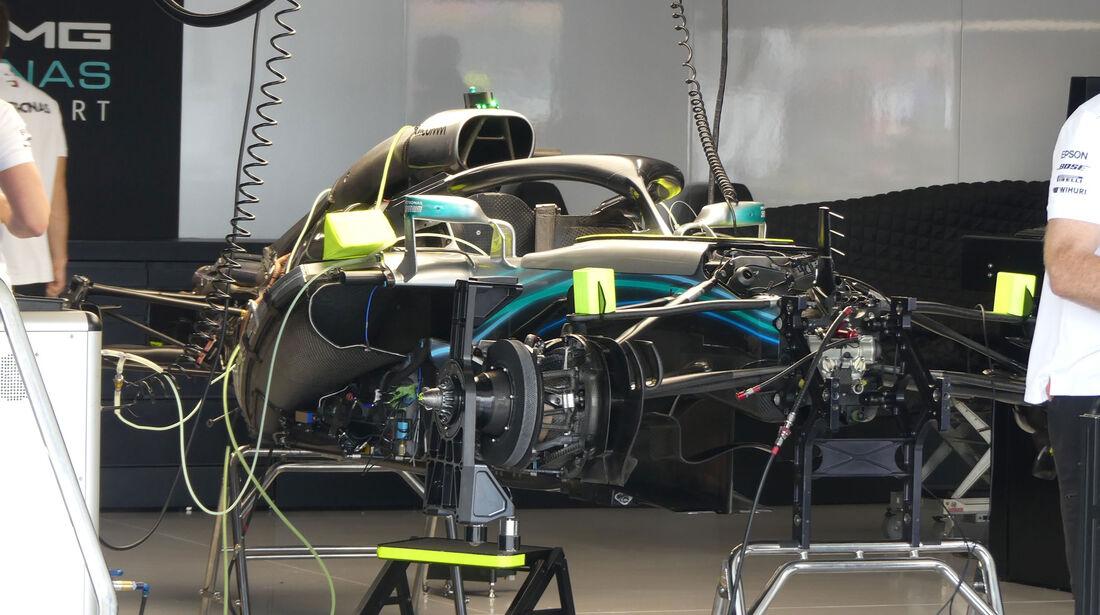 Mercedes - GP Japan - Suzuka - Donnerstag - 4.10.2018