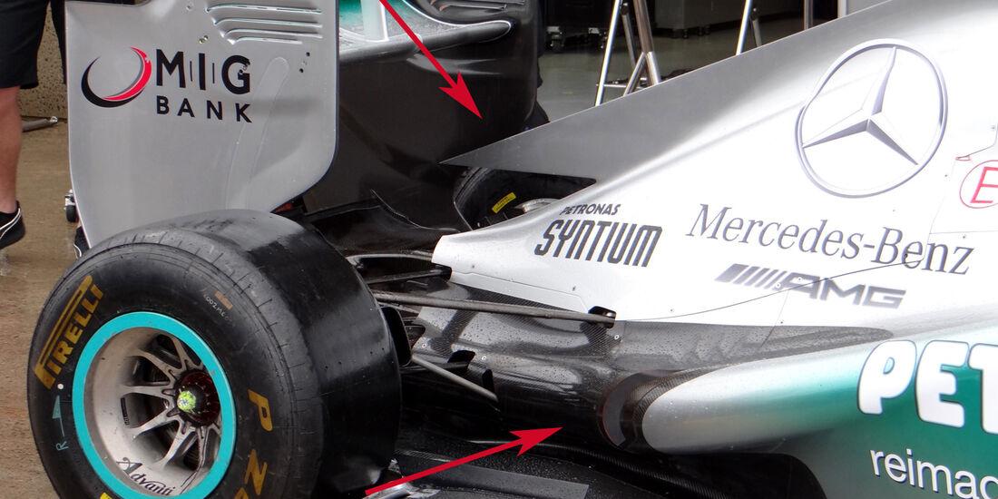 Mercedes GP Kanada 2013