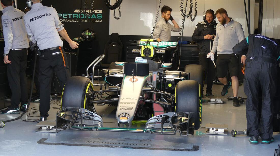 Mercedes - GP Kanada - Montreal - Freitag - 10.6.2016