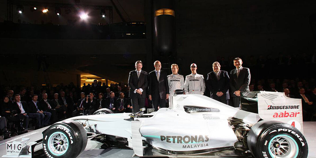 Mercedes GP Präsentation 2010