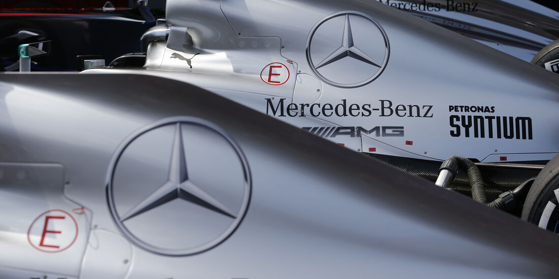 Mercedes GP Spanien 2013