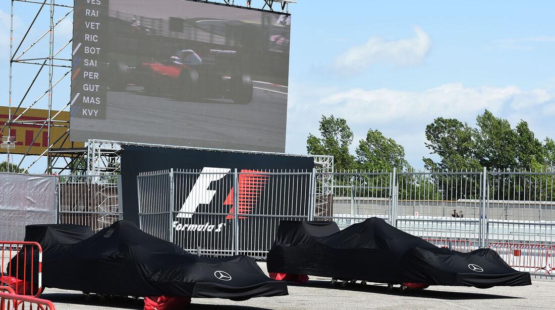 Mercedes - GP Spanien 2016 - Barcelona - Sonntag - 15.5.2016