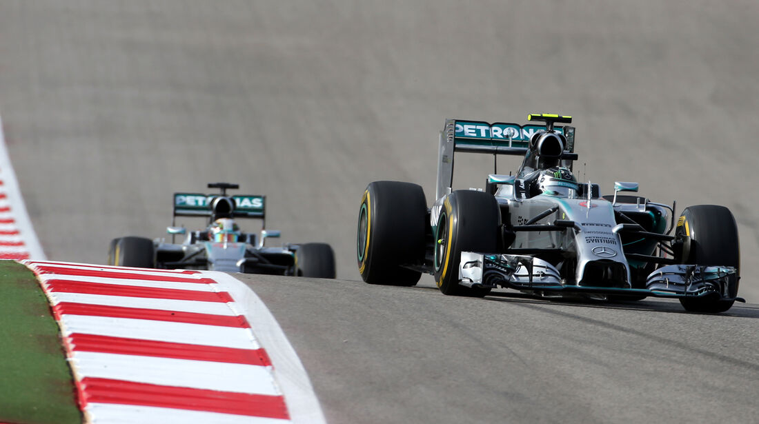 Mercedes - GP USA 2014