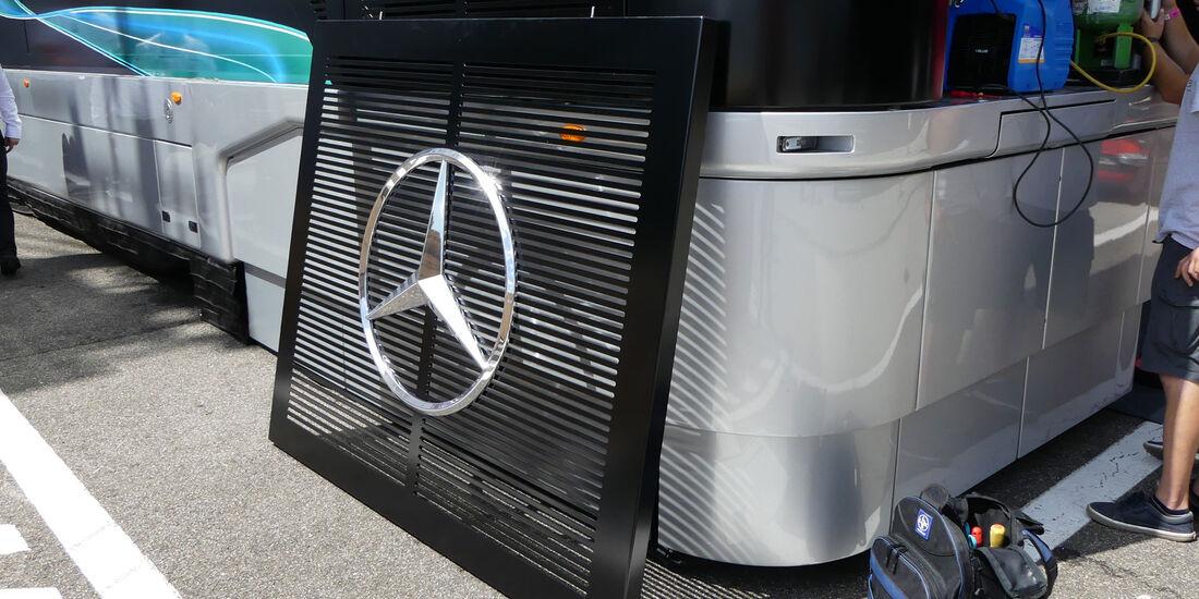 Mercedes - GP Ungarn - Budapest - Formel 1 - Donnerstag - 26.7.2018