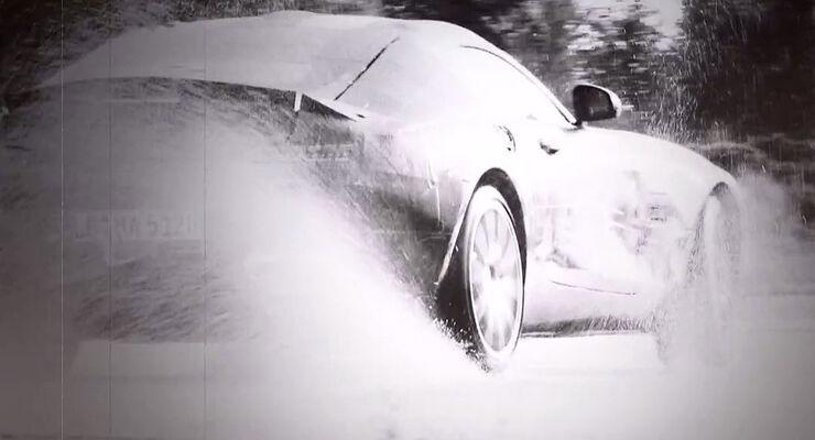 Mercedes GT AMG Teaser