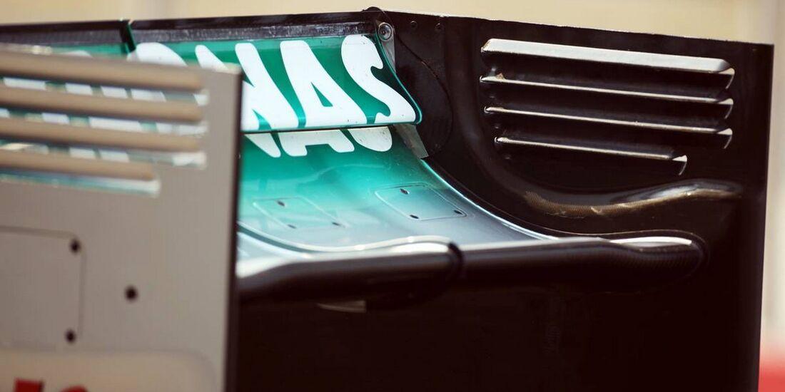 Mercedes Heckflügel - Formel 1 - GP Indien - 26. Oktober 2012