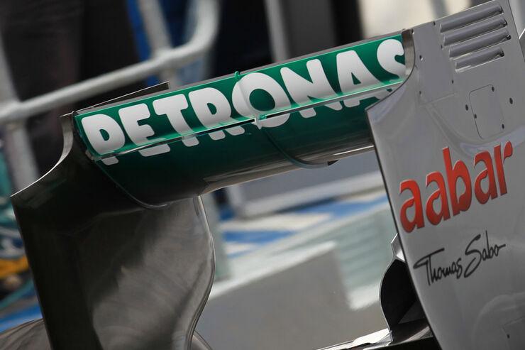 Mercedes-Heckflügel - GP Australien - Melbourne - 16. März 2012