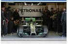 Mercedes - Jerez-Test - Formel 1 - 2014