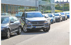 Mercedes ML 250 Bluetec 4-matic, Parken
