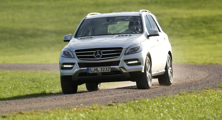Mercedes ML 350 Bluetec, Frontansicht