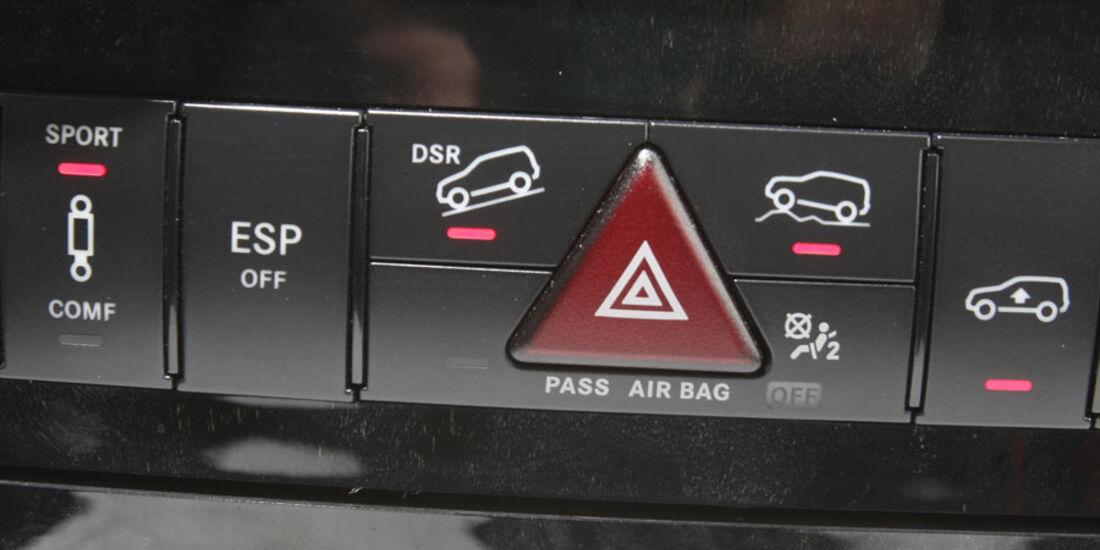 Mercedes ML 350 Bluetec, Luftfederung, Mittelkonsole