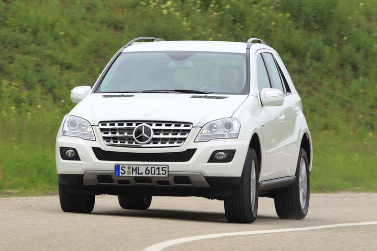 mercedes m-klasse (w164) technische daten - auto motor und sport