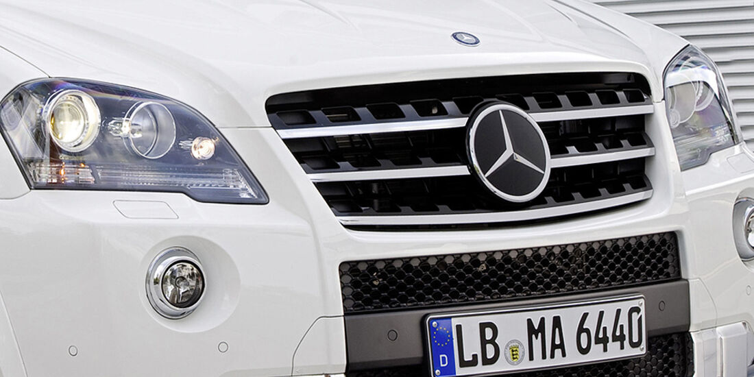 Mercedes ML 63 AMG Kühlergrill