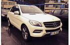 Mercedes ML Dauertest 2013