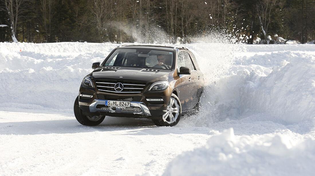 Mercedes ML, Frontansicht