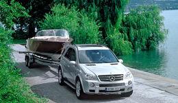 Mercedes ML-Klasse ML 320 CDI W164 Anhänger Zugfahrzeug