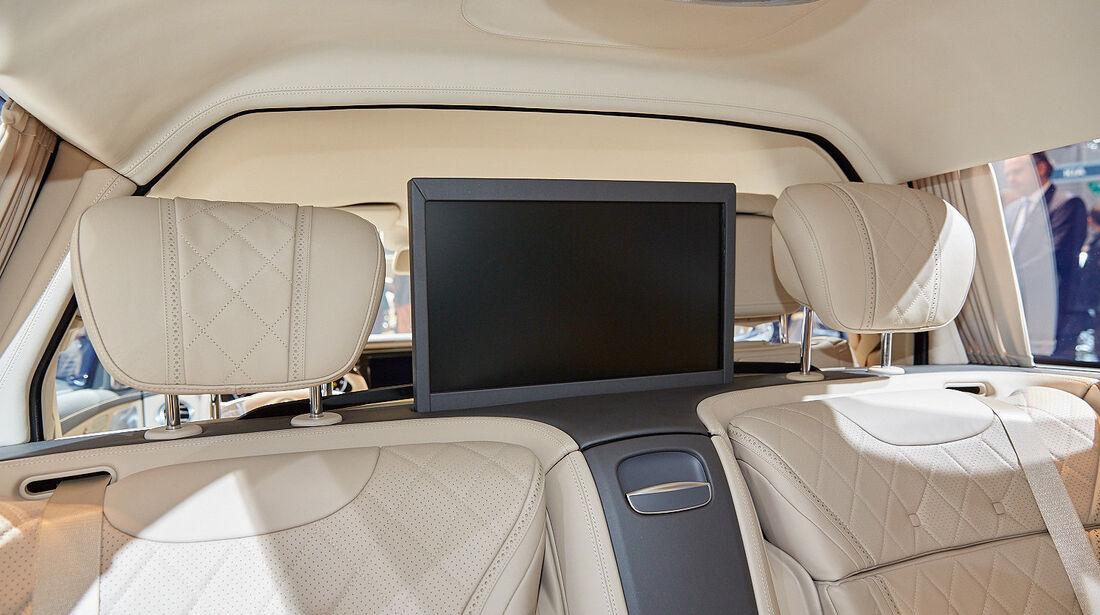 Mercedes-Maybach Pullman Sitzprobe