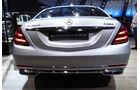 Mercedes Maybach S560 - Auspuff - IAA Frankfurt 2017