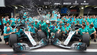 Mercedes Meister-Party - Brackley & Brixworth 2018