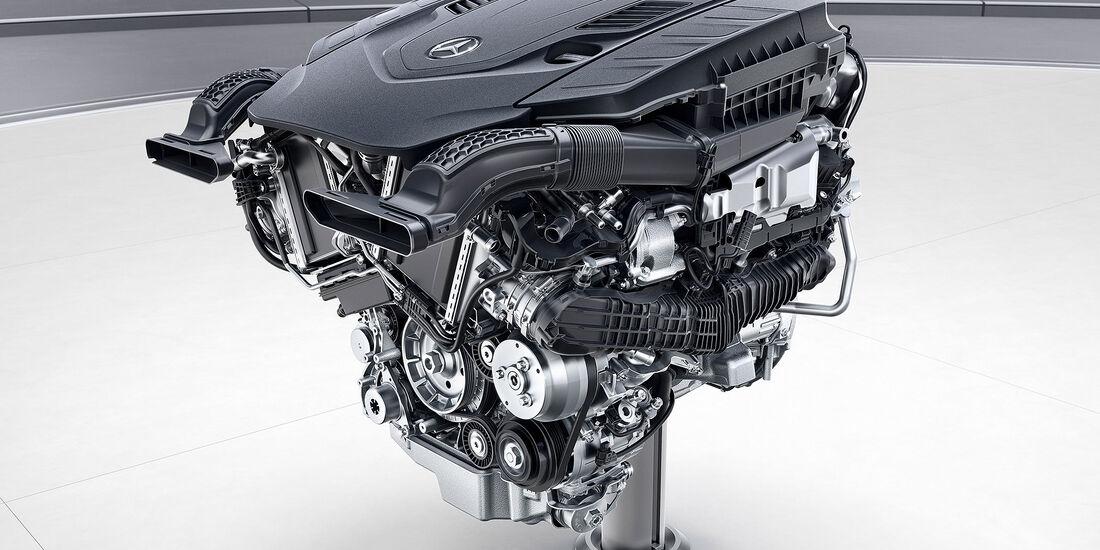 Mercedes Motoren Zukunft 2017 V8 Benziner M176