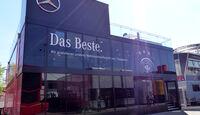 Mercedes-Motorhome - Formel 1 - GP Deutschland - Hockenheim - 17. Juli 2014
