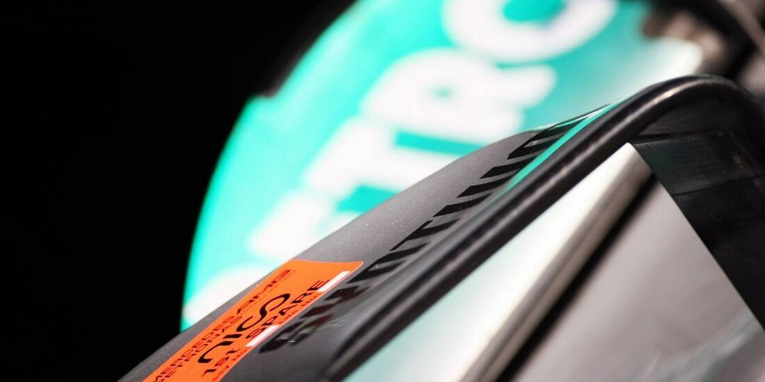 Mercedes Nase - Formel 1 - GP Indien - 25. Oktober 2012