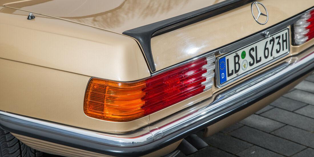 Mercedes R107, Heckleuchte