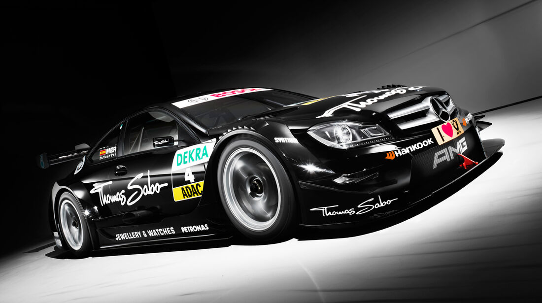 Mercedes Roberto Merhi DTM 2013