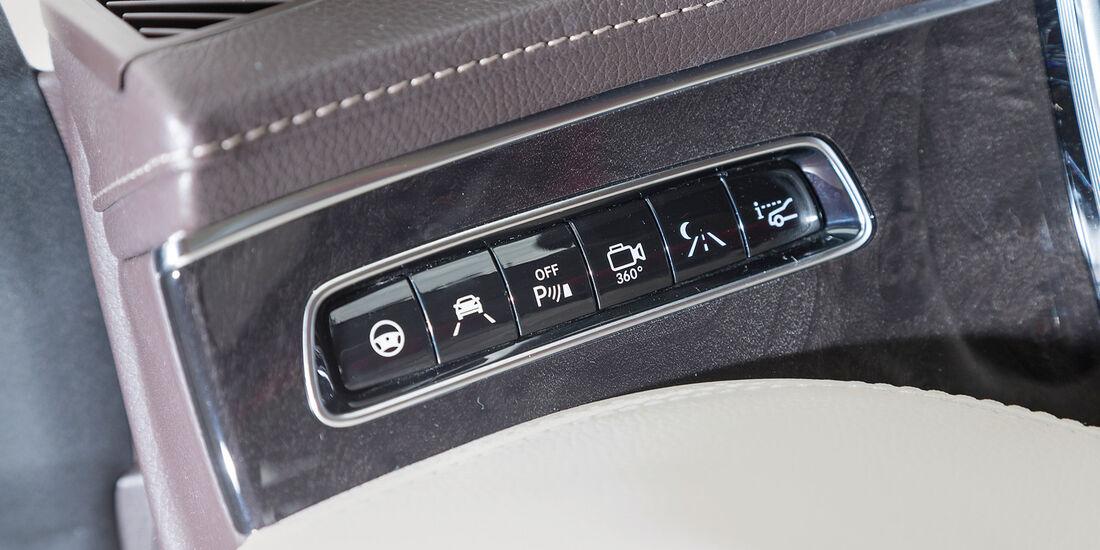 Mercedes S 500 4Matic Coupé, Bedienelemente