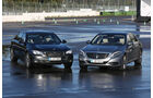 Mercedes S 500 L, BMW 750Li, Frontansicht