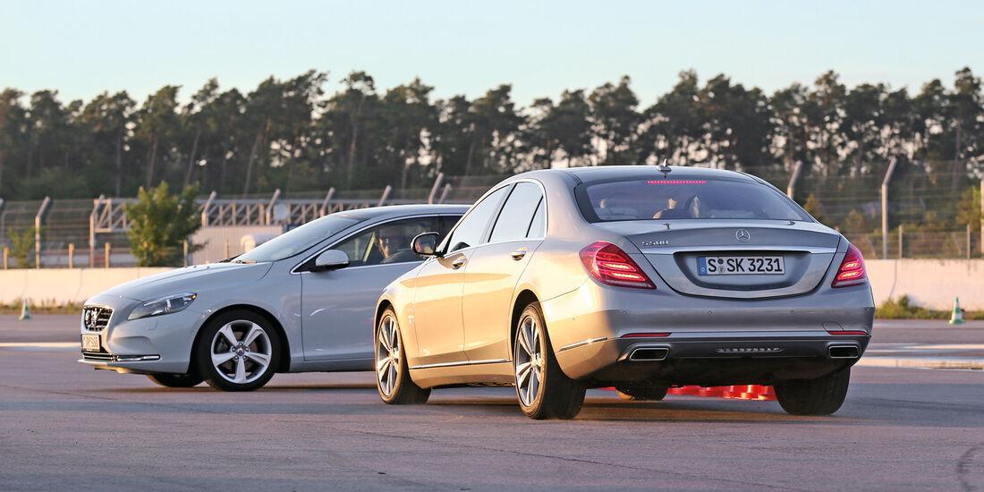 Mercedes S 500 L, Bremsassistent