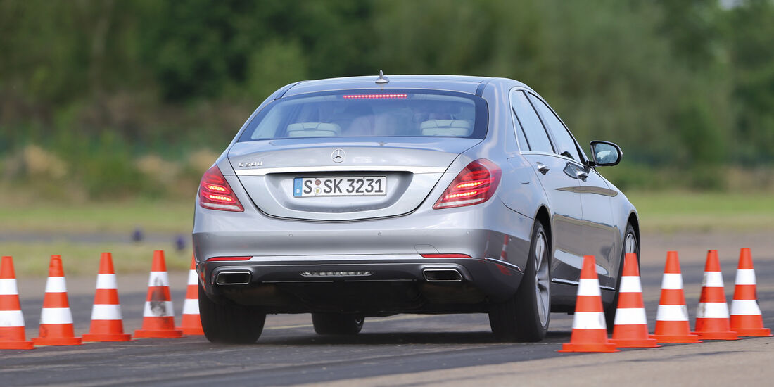 Mercedes S 500 L, Bremstest
