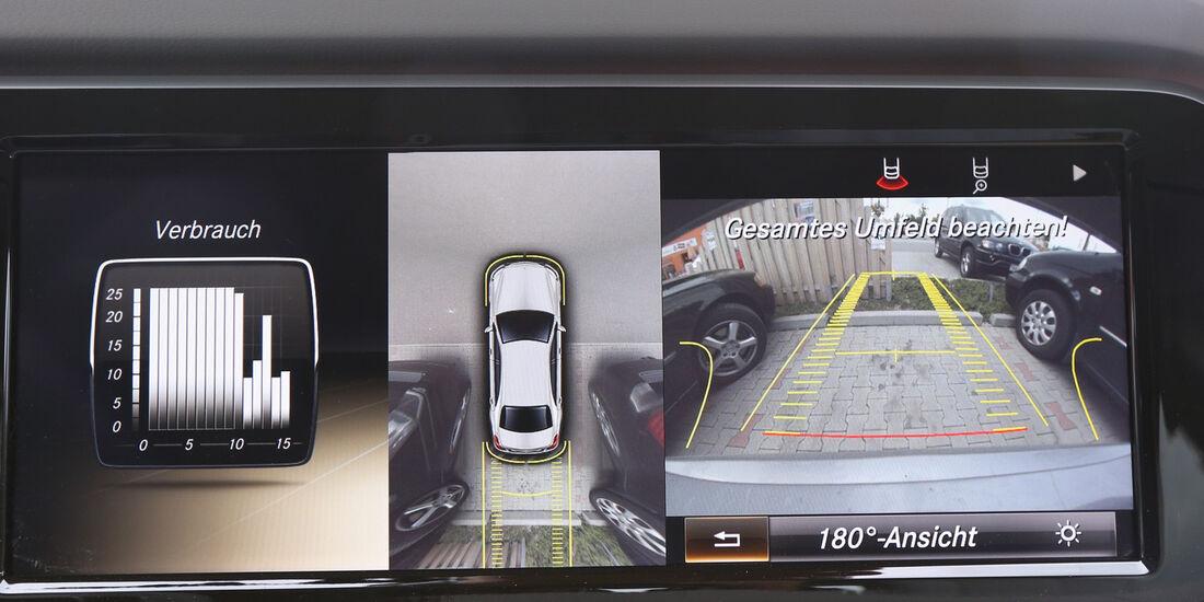 Mercedes S 500 L, Umfeldüberwachung